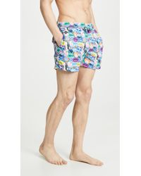 a9409cbc0a H&M Short Swim Shorts in Green for Men - Lyst