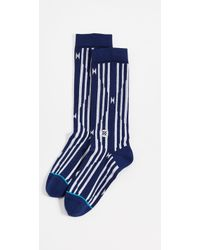 Stance - Diablo (navy) Men's Crew Cut Socks Shoes - Lyst