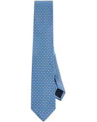 Ferragamo - Double Gancio Print Tie - Lyst