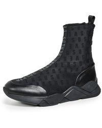 Versus - Sock Trainer Boots - Lyst