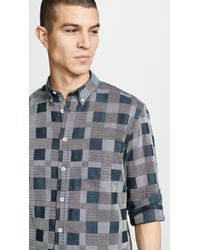 Billy Reid - Heirloom Plaid Shirt - Lyst