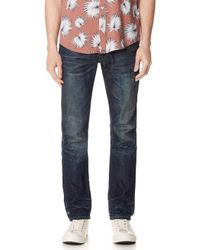 Fabric-Brand & Co. - Selvedge Slim Fit Jeans - Lyst