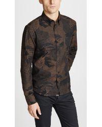 Billy Reid - Peacock Shirt - Lyst