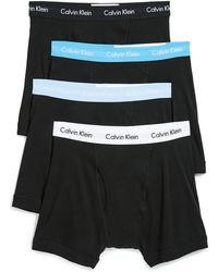CALVIN KLEIN 205W39NYC - Cotton Classics 4 Pack Boxer Briefs - Lyst