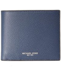 Michael Kors - Harrison Leather Billfold - Lyst