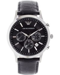 Emporio Armani - Renato Watch, 43mm - Lyst