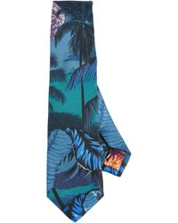 Paul Smith | Floral Print Tie | Lyst