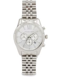 Michael Kors - Lexington Chronograph Watch - Lyst