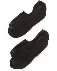 Calvin Klein - 2 Pack Cushion No Show Socks - Lyst