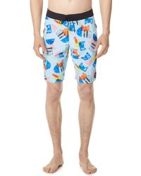 RVCA - Margaux Trunks - Lyst