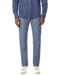 Naked & Famous - Recycled Yarn Selvedge Jeans - Lyst