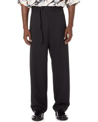 Lemaire - Belted Pants - Lyst