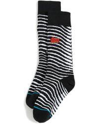 Stance - David Bowie Black Star Socks - Lyst