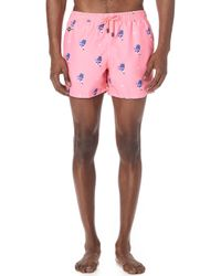 Nikben - Peace Out Swim Trunks - Lyst