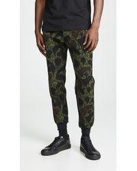 COACH - Green Wild Beast Track Trousers - Lyst