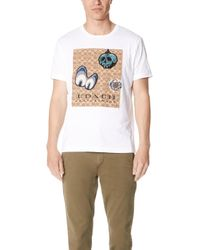 COACH - X Disney Signature Patch Tee - Lyst
