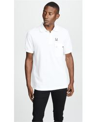 Fred Perry - Pocket Detail Pique Shirt - Lyst
