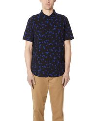 RVCA - Od Floral Short Sleeve Shirt - Lyst