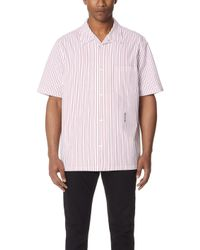Alexander Wang - Stripe Embroidered Shirt - Lyst