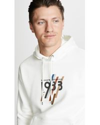 Lacoste - 1933 Graphic Pull Over Hoodie - Lyst
