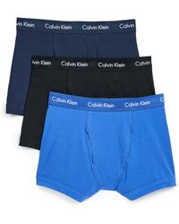 CALVIN KLEIN 205W39NYC - Cotton Stretch Trunks - Lyst
