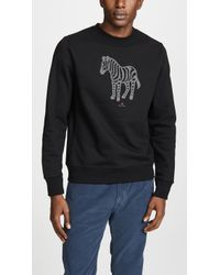 PS by Paul Smith - Long Sleeve Zebra Sweatshirt - Lyst