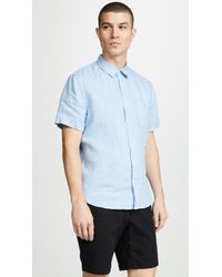 Vince - Linen Shirt - Lyst