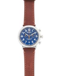 Shinola - The Runwell Chronograph 41mm Watch - Lyst