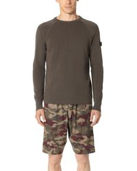 Halo - Crew Neck Thermal Pullover - Lyst