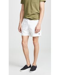 Polo Ralph Lauren - Elasticated Waistband Shorts - Lyst