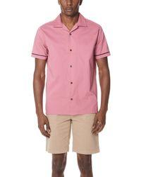 RVCA - Donny Short Sleeve Shirt - Lyst