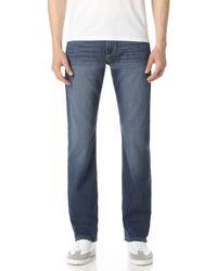 PAIGE - Normandie Birch Jeans - Lyst