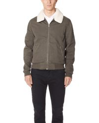 PAIGE - Kinley Bomber - Lyst
