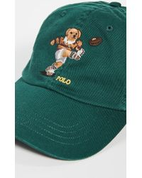 Polo Ralph Lauren Rugby Bear Chino Cap