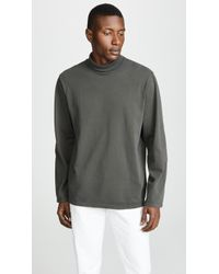 Our Legacy - Long Sleeve Jersey Turtleneck Shirt - Lyst