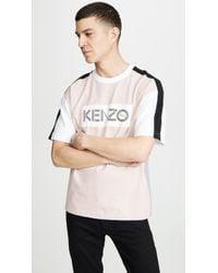 KENZO - Colorblock Sport Tee - Lyst