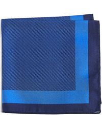 HUGO - Blocked Stripe Pocket Square - Lyst