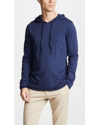 Vince - Double Layer Pullover Hoodie - Lyst