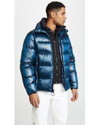 The Very Warm - Logan Water Repellent Down & Feather Fill Puffer Jacket - Lyst
