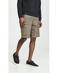 Levi's - Cheetah Print Cargo Shorts - Lyst