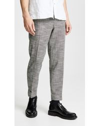 Club Monaco - Drain Pipe Pants - Lyst