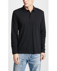Sunspel - Lonsg Sleeve Riviera Polo Shirt - Lyst