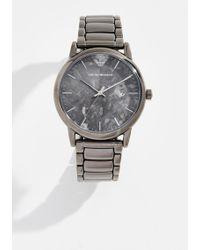 Emporio Armani - Luigi Watch 42.5mm - Lyst