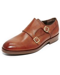 Cole Haan - Harrison Grand Double Monk Straps - Lyst