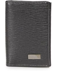 Ferragamo | Revival Leather Card Case | Lyst