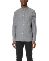 Rag & Bone - Standard Issue Lightweight Flannel Shirt - Lyst
