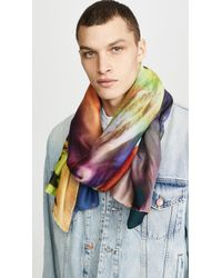 Paul Smith - Patched Photo Scarf - Lyst
