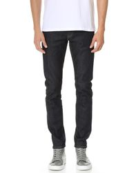 Club Monaco | Super Slim Denim Jeans | Lyst