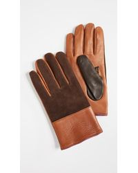 Paul Smith - Nappa Suede Gloves - Lyst
