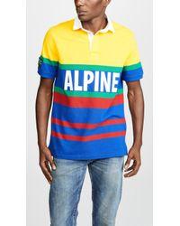 Polo Ralph Lauren - Hi Tech Short Sleeve Rugby Polo Shirt - Lyst